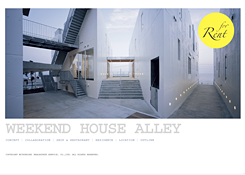 WEEKEND HOUSE ALLEY : WEB DESIGN